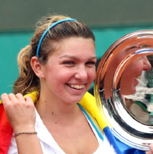"Simona Halep – ""Most Improved Player"""