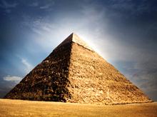 "Despre ce ""vorbeste"" piramida"