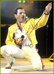 "FREDDIE MERCURY –  ""Prince of the Universe"""