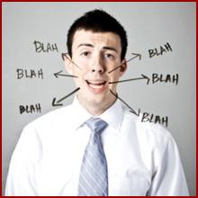 Ce poate indica vorbirea fara sens?