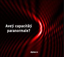 Aveti capacitati paranormale ?