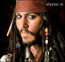 "Un ""pirat"" charismatic… JOHNNY DEPP"