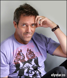 Hugh Laurie  =  Dr. House