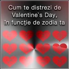 Cum te distrezi de Valentine`s Day, în funcție de zodia ta
