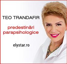 TEO TRANDAFIR şi predestinările ei parapsihologice