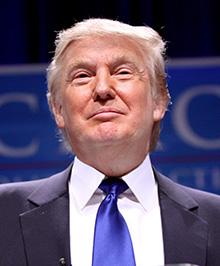 MAGNATUL  PREŞEDINTE – Donald John Trump